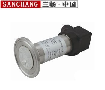 卫生平膜型扩散硅压力变送器