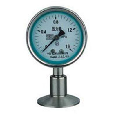 Y-100BFZ/Z/MC抗振型卫生型隔膜式压力表