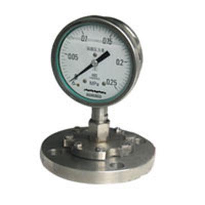Y-60BF/Z/MC卫生型隔膜式压力表
