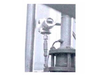 图2 安装在氢进气管上的三畅 530A压力传感器