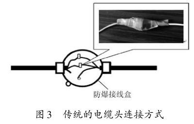 传统的电缆头连接方式