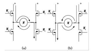 直线电机控制电路示意图