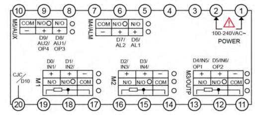 智能工業控制器端子