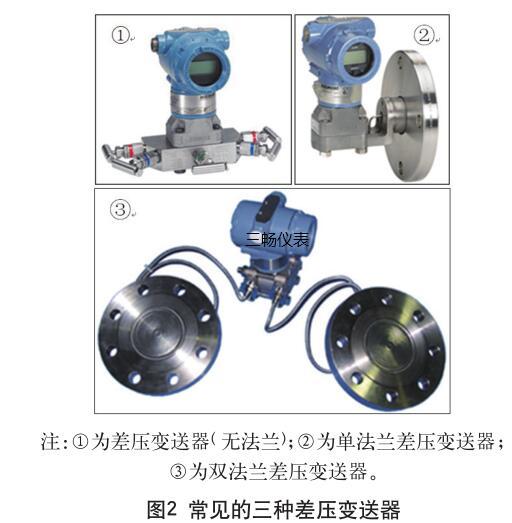 常见的三种差压变送器