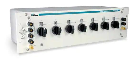 这款经典型比例变压器用于在校准传感器模拟接口电路的性能时模拟