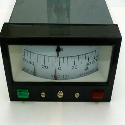 YEJ-121电接点矩形膜盒压力表