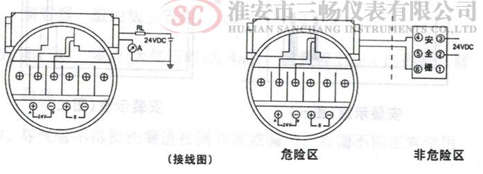 投入式液位计接线图